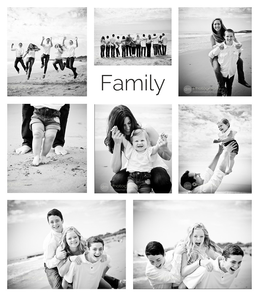 Family Reunion Photography at the beach