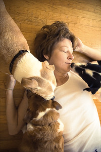 me and dogs