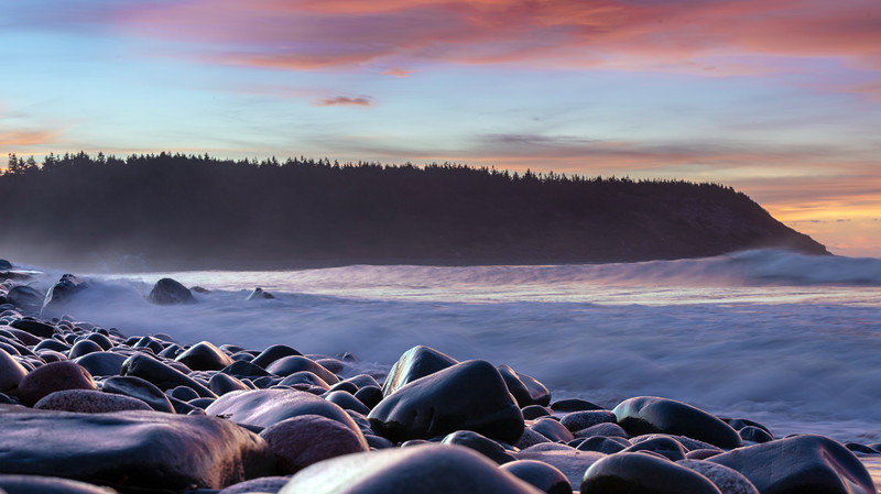 Lawrencetown Beach cotton candy
