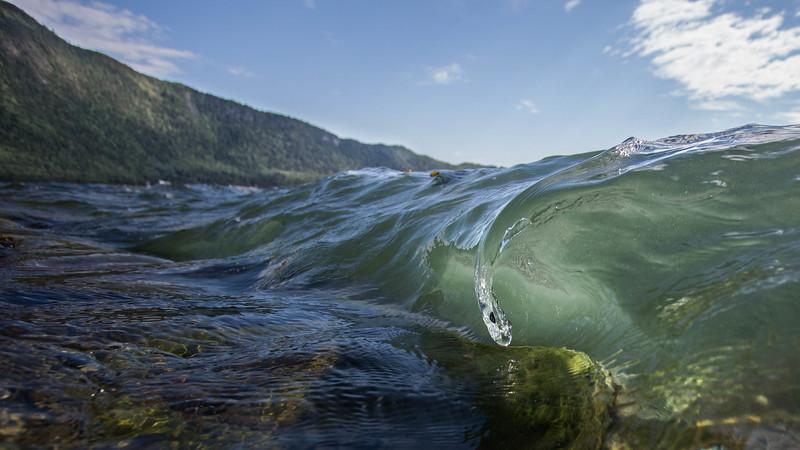 Water drop wave