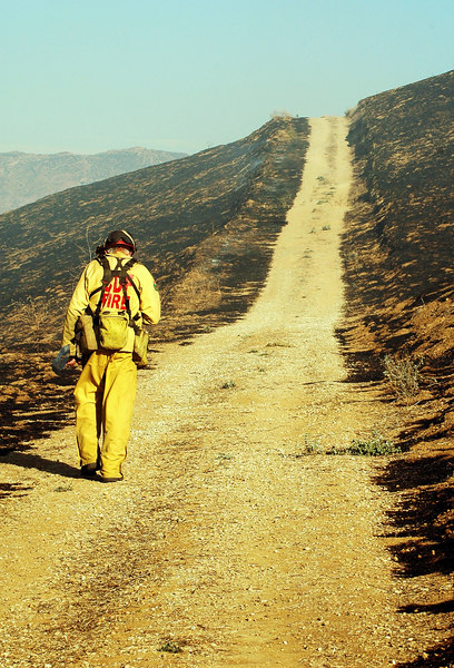 Burnt Out<br /> Sequoia Fire.  Simi Valley, CA 2007