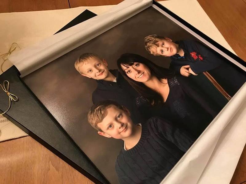 16x20 Family Portrait Print