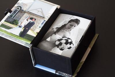 Custom Wedding Memory Box