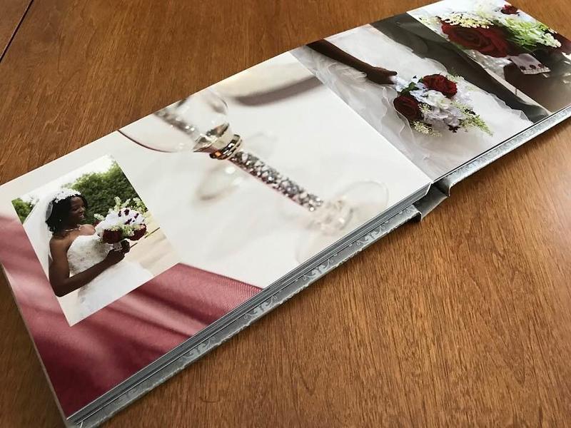 Wedding Album Pages