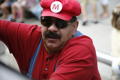 Marco. Mario and Luigi's other brother.