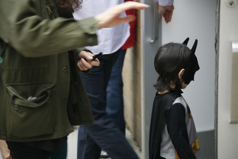 Holy Gagosian, it's Batman!