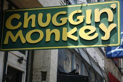 chuggin monkey