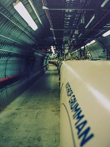 Relativistic Heavy Ion Collider Tunnel, Brookhaven National Laboratory,  c. 1999