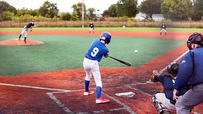 Batting.