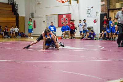 Grade-7 B-Team Wrestling - image by Mackenzie DelSignore