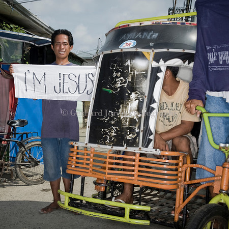 JESUS ALLAN MANALANSAY - BORN IN IMUS CAVITE 1982, WORKING AS PEDICAB DRIVER                          <br />                                                                                      <br />