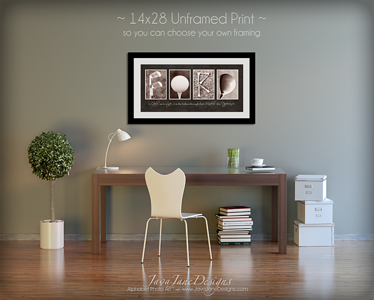 Unframed, Mounted, and Framed Options Available