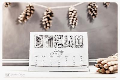 2016 Photo Art Desktop Calendar - Architecture