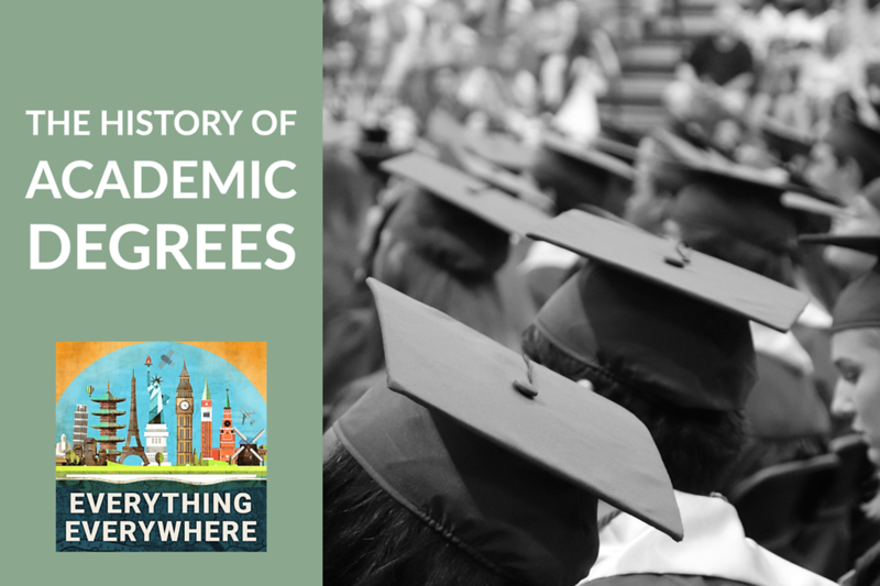 The History of Academic Degrees