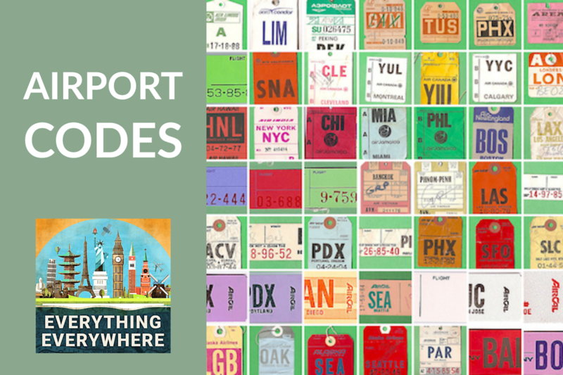 All About Airport Codes