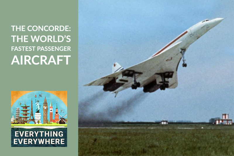 The Concorde: The Fastest Passenger Airplane Ever