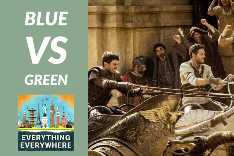 Green vs. Blue: Fanatical Chariot Fans in Ancient Rome