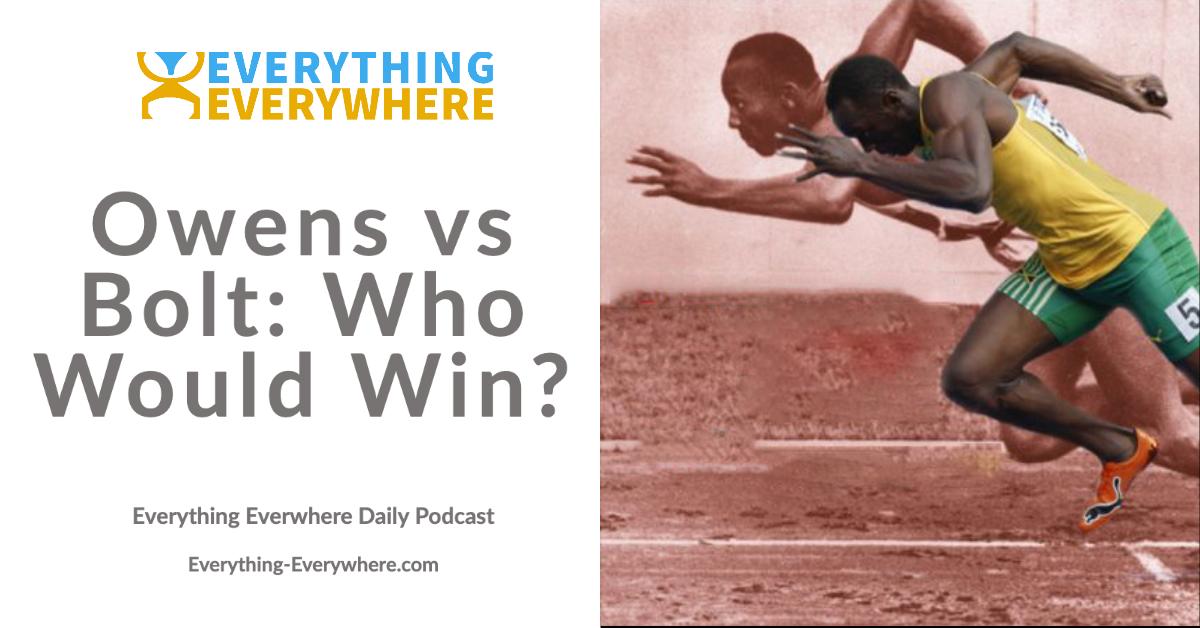 Jesse Owens vs Usain Bolt: Who Would Win