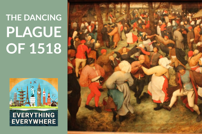 The Strasbourg Dancing Plague of 1518
