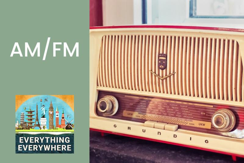 The History of AM/FM Radio