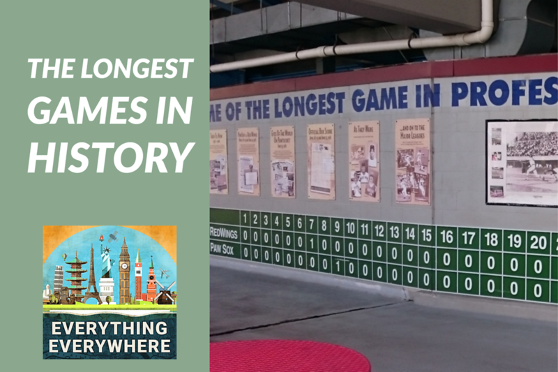 The Longest Sports Games in History