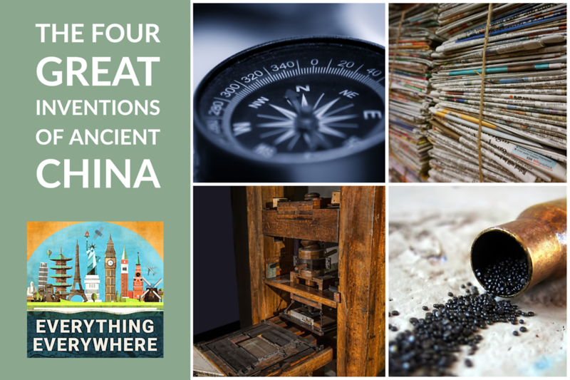 The Four Great Inventions of Ancient China