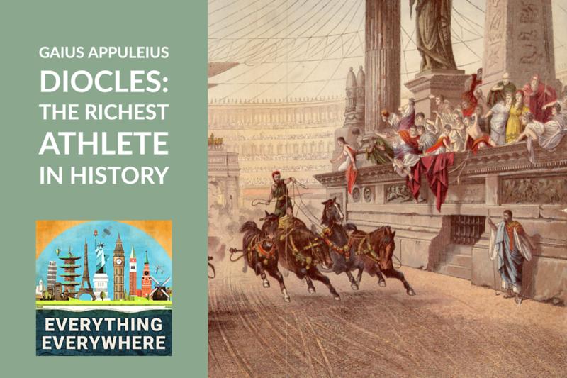 The Richest Athlete in History: Gaius Appuleius Diocles