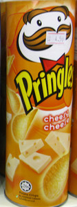 Cheesy Cheese flavored Pringles from Malaysia   Courtesy of Dylan http://www.fantabulousness.com