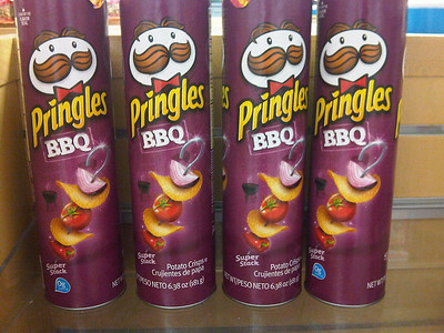 BBQ Pringles from the Dominican Republic   Courtesy of Jodi Ettenberg of http://Legalnomads.com
