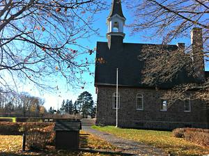 Church in Grand Pre, Nova Scotia