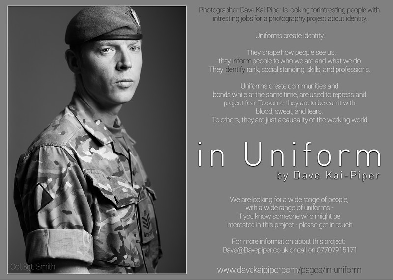 In Uniform Flyer