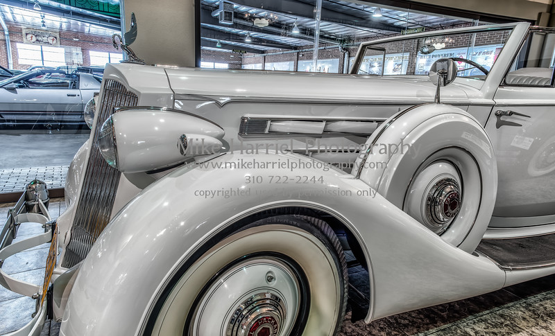 The white packard