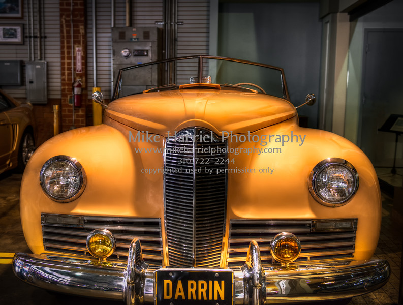 The Darrin - El Segundo automobile driving museum