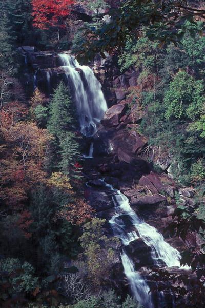 Upper White Water Falls, Nantahala National Forest, NC