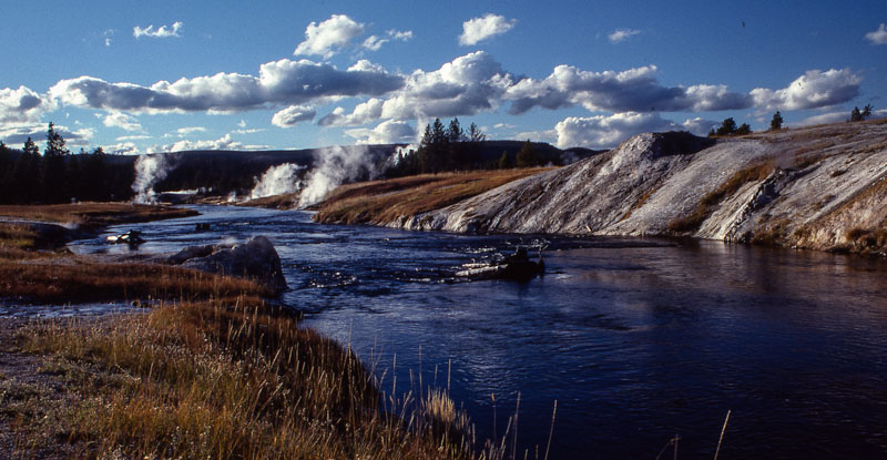 Firehole River, Yellowstone National Park, WY