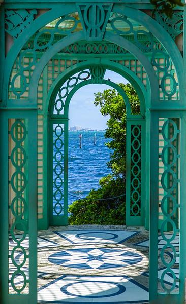 Arched Doorways, Vizaya Museum and Garden, Miami, FL