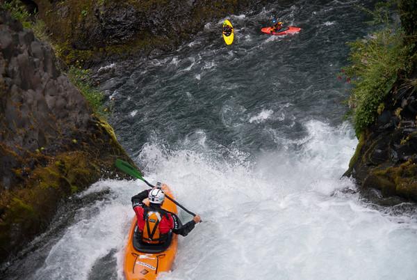 Rio Palguin Salto medio