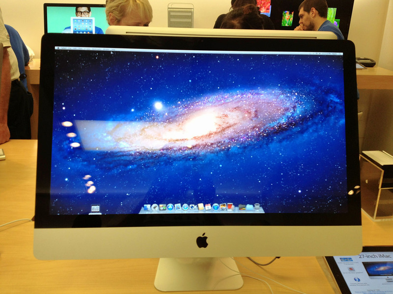 At the Apple store in Legacy Village