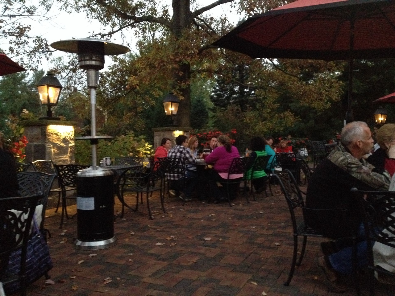 The Piazza at Gervasi