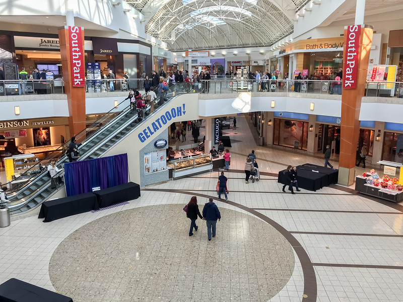 Inside South Park Mall
