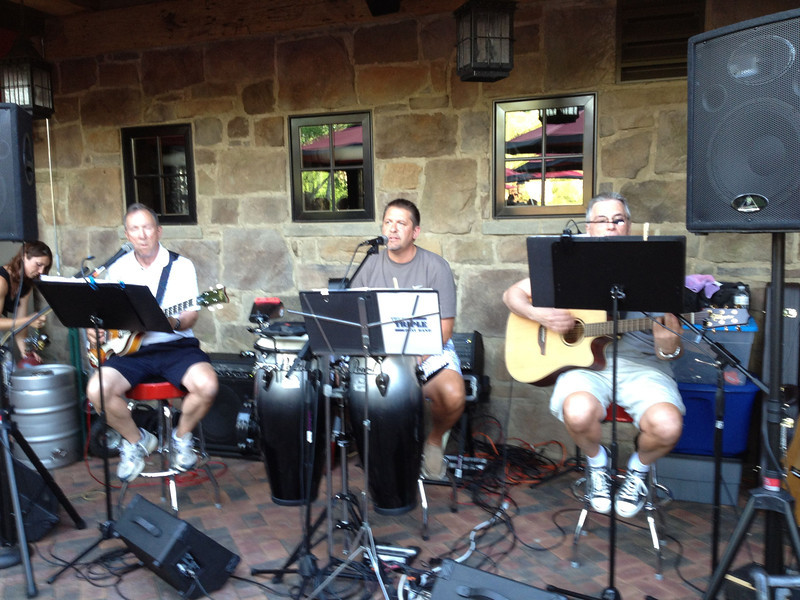 Triple Play Band. At Gervasi. 6/15/2012