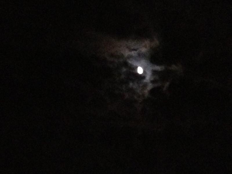 Night sky over the ocean 9/14/2013