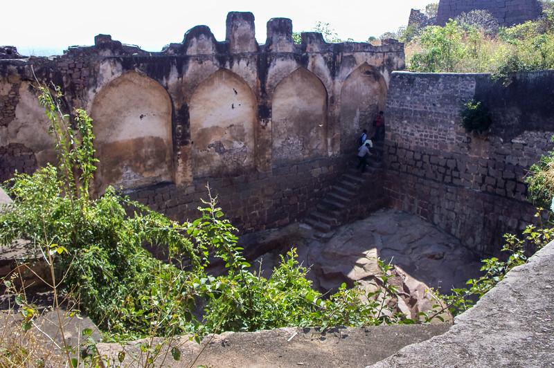 Golconda Fort, Hyderabad, India.