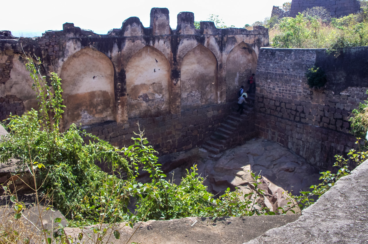 Golconda Fort, Hyderabad, India.