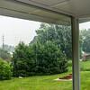 Raining on New Deck 7/7/2014
