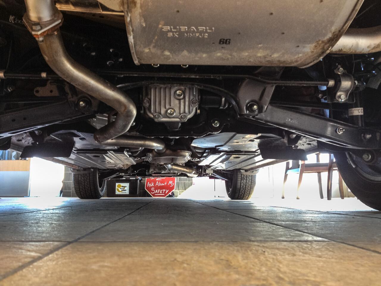 2013 Subaru Crosstrek Underside