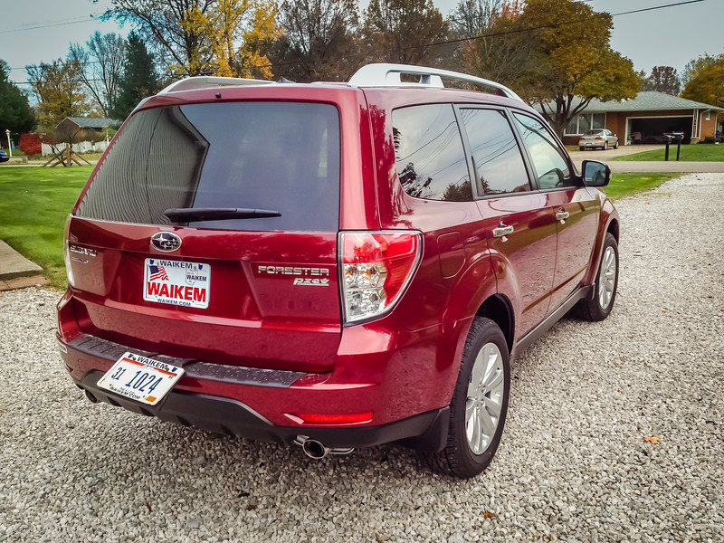 2012 Forester Touring