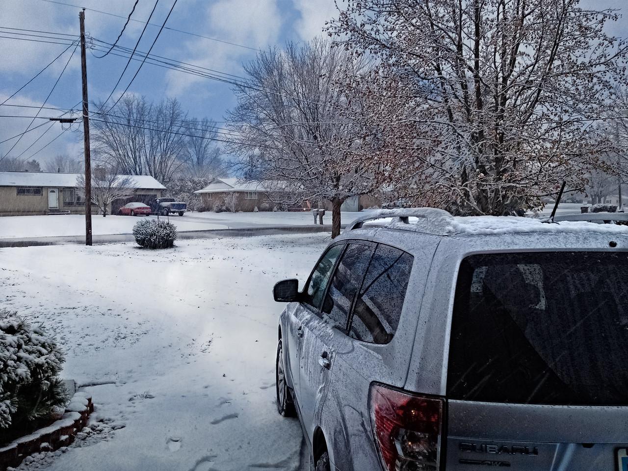 Snowy Day in November