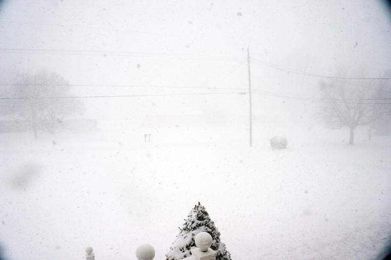 Whiteout Snow Storm
