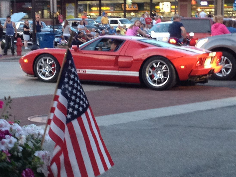 Ford GT. 6/23/2012 Salem, Ohio